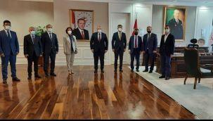 Başkan Kırıkçı'dan Sağlık Bakan Yardımcısına Ziyaret
