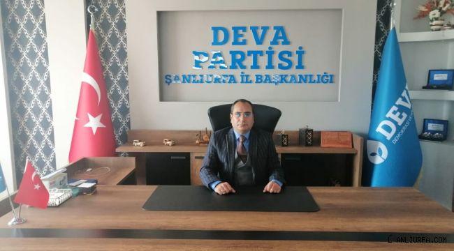 DEVA Partili Ağadayı: Eyyübiye'nin nüfusu gibi sorunları da kabarık