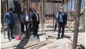 Eyyübiye'de 4 katlı Gençlik Merkezi yükseliyor