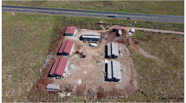Hayvan Rehabilitasyon Merkezi İnşaatı Yükseliyor