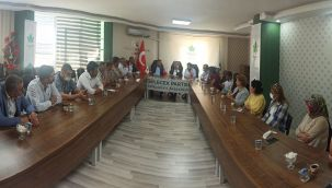 Şanlıurfaspor Yönetimi Gelecek Partisini Ziyaret Etti!