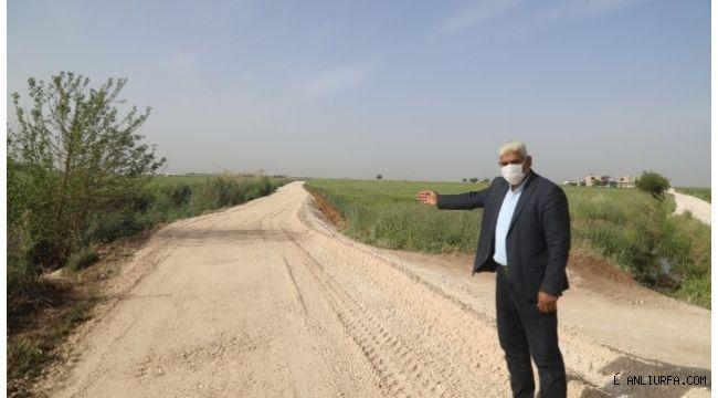 Urfa Büyükşehir Haliliye kırsalında çalışmalarını sürdürüyor