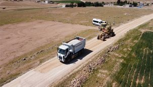 Urfa Büyükşehir kırsalda çalışmalara ara vermiyor