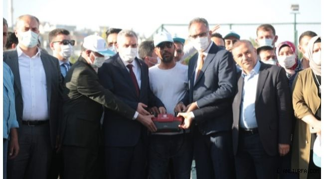 Eyyübiye'de Direkli Semt Pazarı Temeli Atıldı
