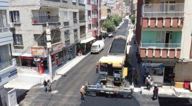 Haliliye'nin asfalt atağı sürüyor