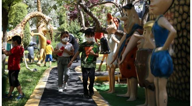 Karaköprü Oyuncak müzesi minik öğrencileri ağırladı