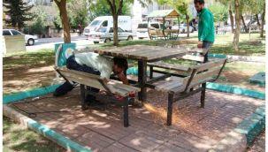 Haliliye Belediyesi 4 parkı yeniliyor